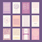 Romantic Card, Wedding Invitation Design Templates
