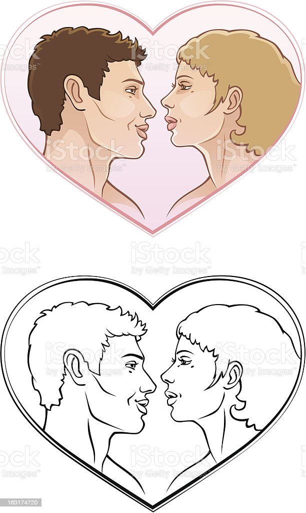 Romantic couple royalty-free romantic couple stock vector art & more images of adult