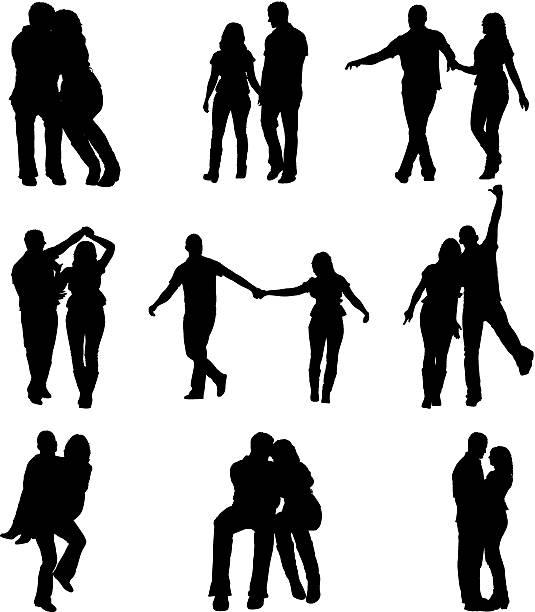 ilustrações, clipart, desenhos animados e ícones de romântico para casais - couple