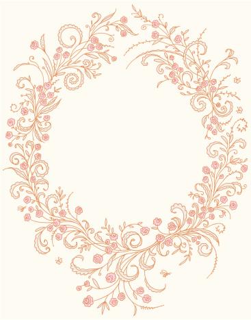 Romantic frame.