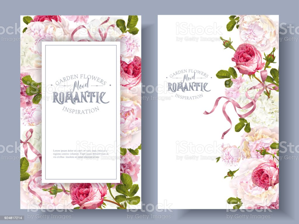 garden banners. Romantic Garden Banners Royalty-free Stock Vector Art \u0026amp; More Images A