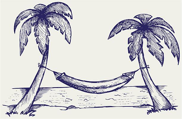 Royalty Free Hammock Clip Art, Vector Images
