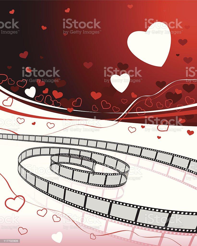 Romantique Fond De Films A La Demande Vecteurs Libres De Droits Et Plus D Images Vectorielles De Amour Istock