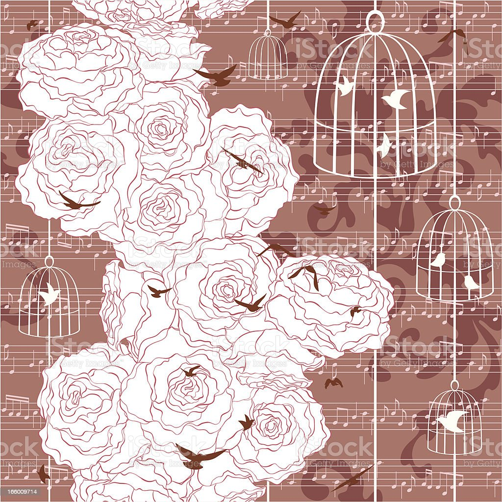 Romantic pattern (seamless) royalty-free romantic pattern stock vector art & more images of backgrounds