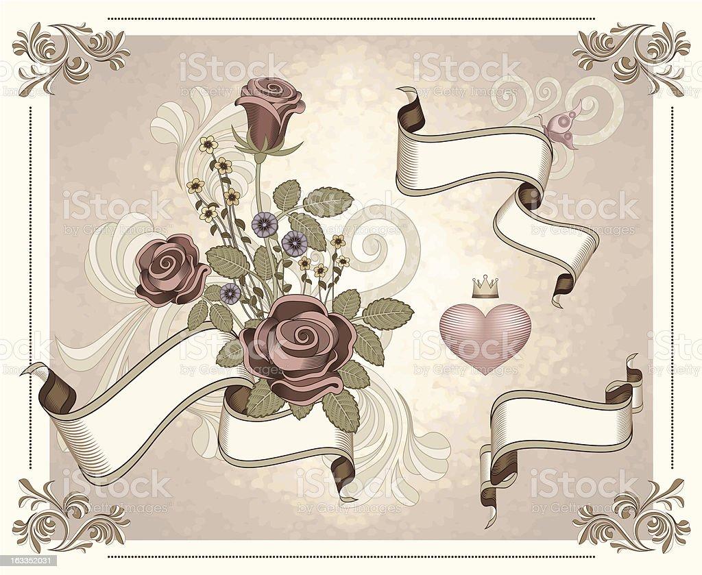 Romantic Set royalty-free romantic set stock vector art & more images of arrangement