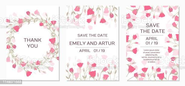 Romantic tender floral design for wedding invitation vector id1149071553?b=1&k=6&m=1149071553&s=612x612&h=q5o8p3a2rovrdajm2z ronvxf cpwomjevwol8hcdgo=