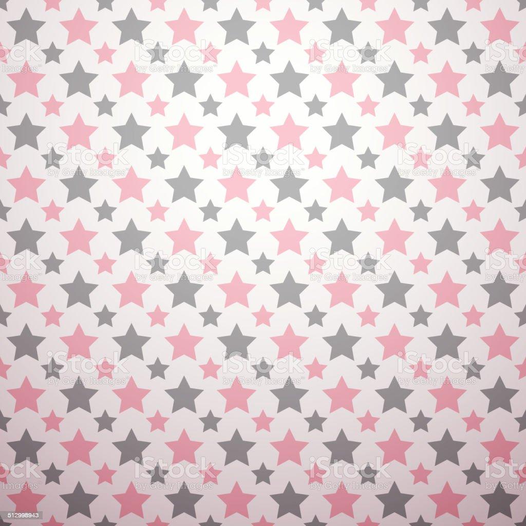 Romantic vector pattern vector art illustration