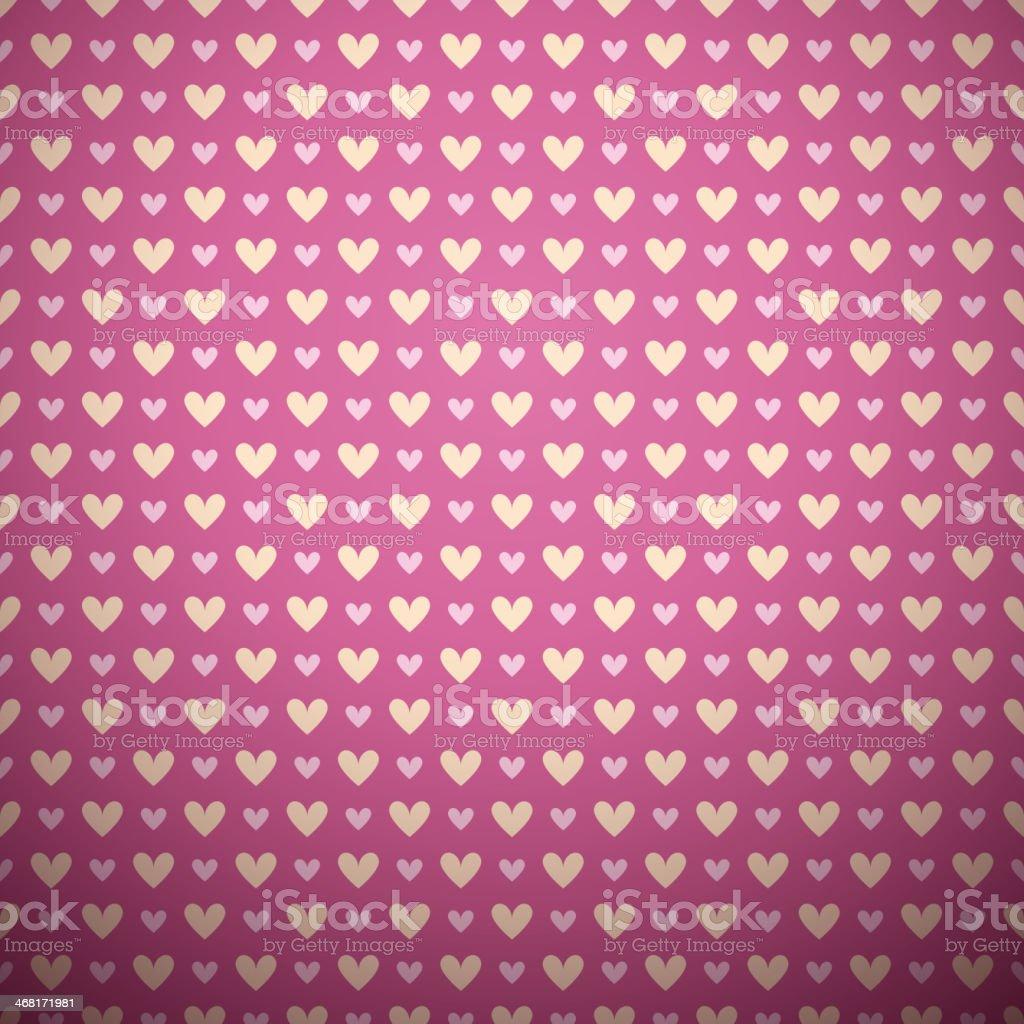 Romantic vector seamless pattern (tiling). royalty-free stock vector art