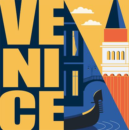 Rome, Italy vector banner, illustration