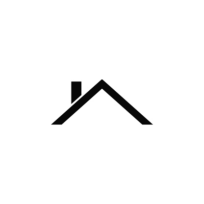 Roof, icon. Element of simple icon for websites, web design, mobile app, infographics. Thick line icon for website design and development, app development