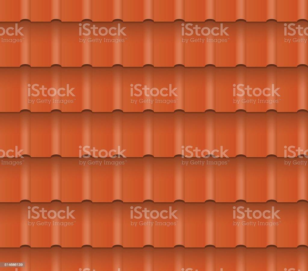 roof tiles vector art illustration