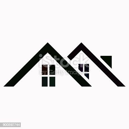 istock Roof vector  icon. 900592744