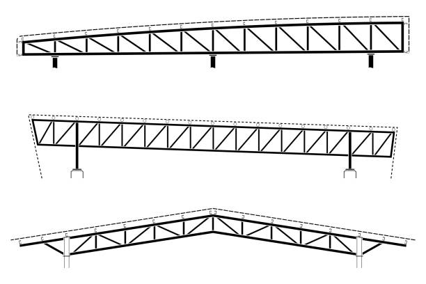 Royalty Free Roof Truss Clip Art, Vector Images & Illustrations - iStock