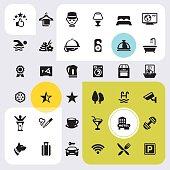 Room Facilities - icon set