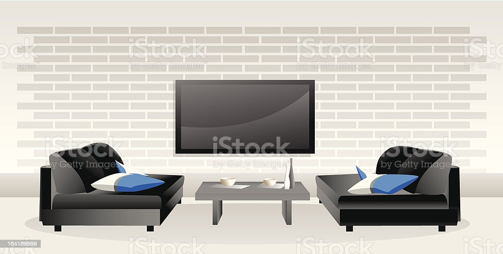 Room for enjoyment royalty-free room for enjoyment stock vector art & more images of brick