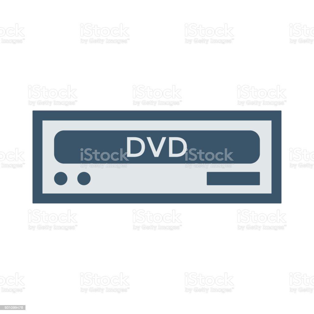 DVD Oda - Royalty-free ABD Vector Art