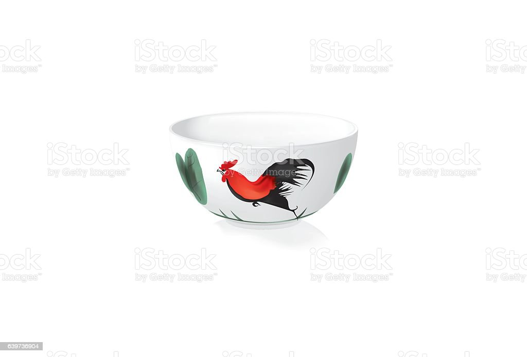 Rooster Bowl Stock Illustration Download Image Now Istock