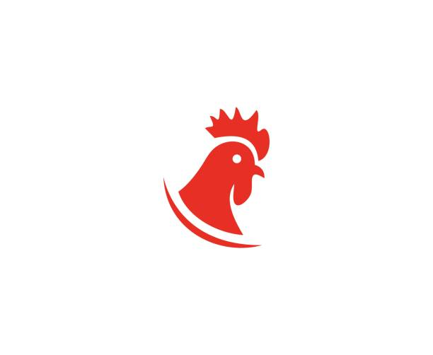 Rooster icon This illustration/vector you can use for any purpose related to your business. cockerel stock illustrations