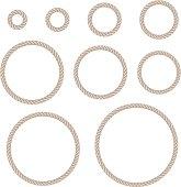 rope circle set