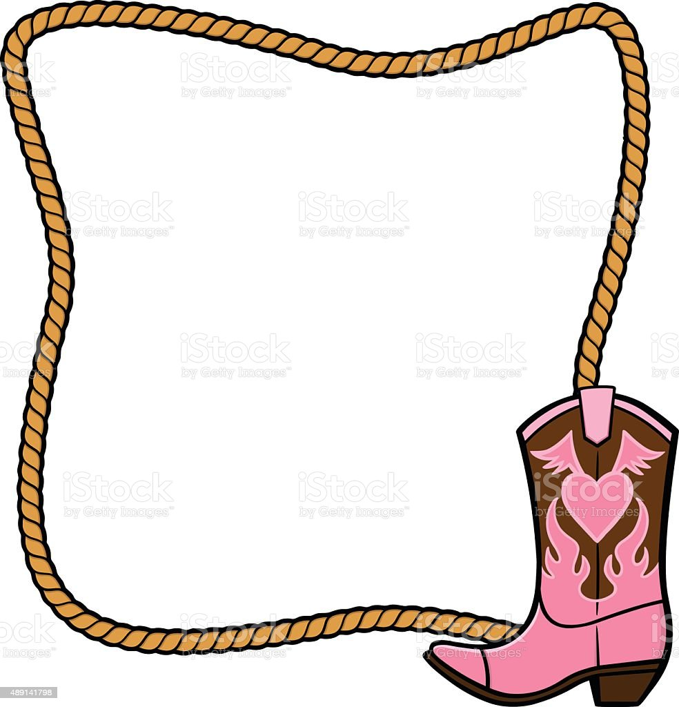 royalty free cowgirl boots clip art vector images illustrations rh istockphoto com cowgirl clipart free