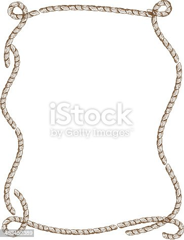 Rope frame design