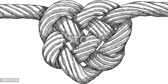 rope heart knot stock vector art   more images of bent knot clipart png knot openclipart
