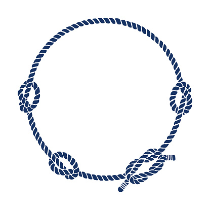 Rope Knot Border