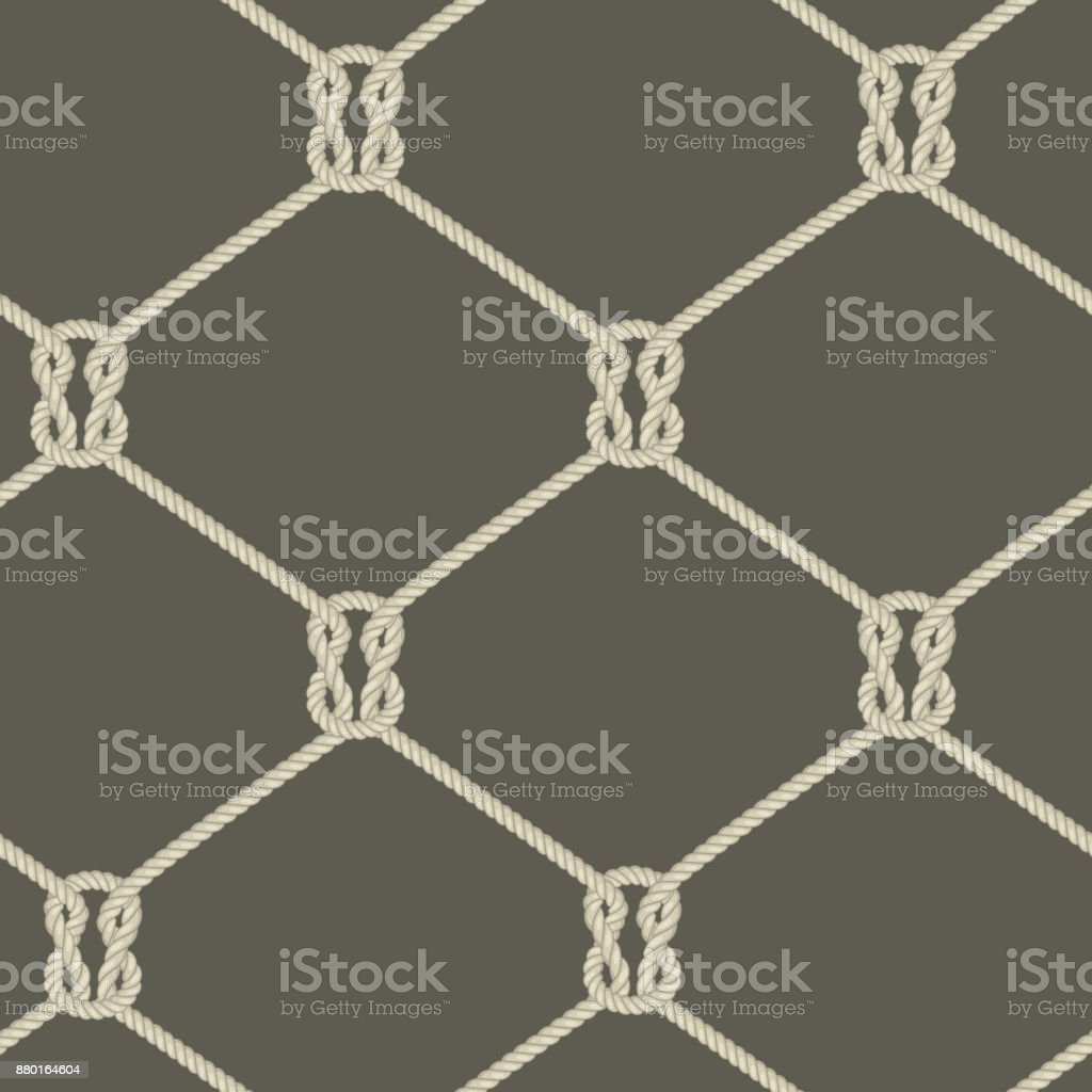 Ropes background vector art illustration