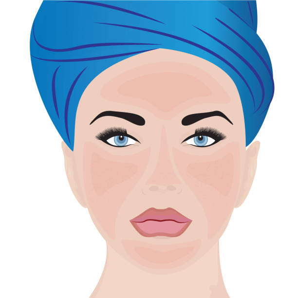 Best Rosacea Illustrations, Royalty-Free Vector Graphics