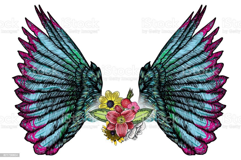 Angel Tattoo Stock Illustrations – 11,752 Angel Tattoo Stock Illustrations,  Vectors & Clipart - Dreamstime