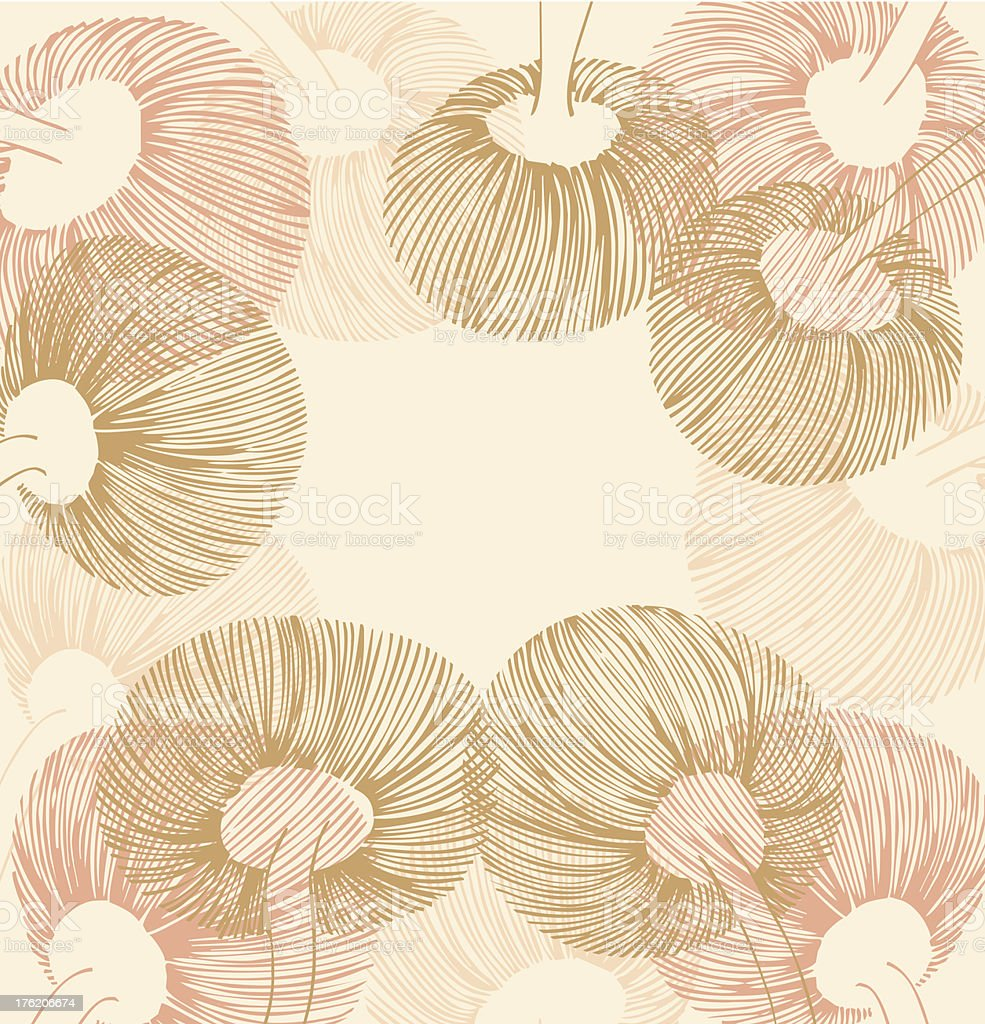 Rose and sandy vintage flower element royalty-free rose and sandy vintage flower element stock vector art & more images of abstract