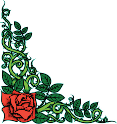 Rose and Thorns Color