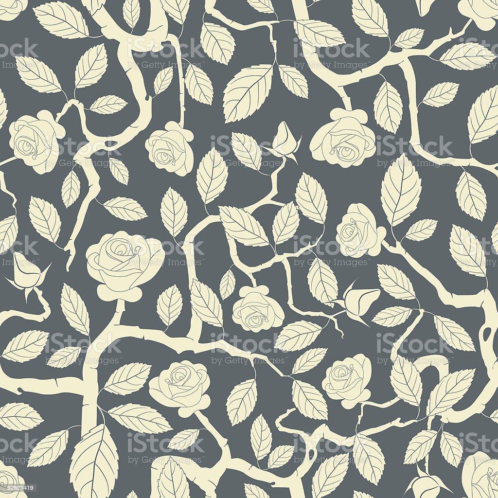 rose bush royalty-free stock vector art
