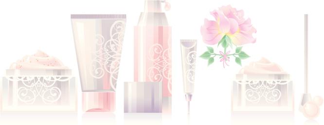 Rose Cosmetics Set