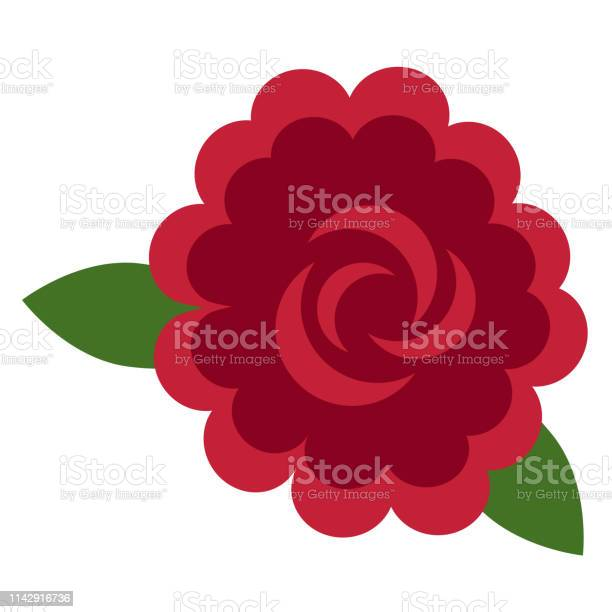 Rose flat illustration on white vector id1142916736?b=1&k=6&m=1142916736&s=612x612&h=ibrhvn6pxyu4o0cxb3ioqbzryeikfmzh1jbec7lu6ra=
