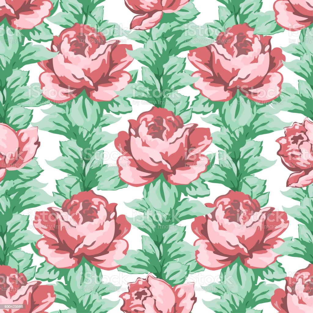 Rose Flower Hand Drawing Seamless Pattern Vector Floral Background on garden dress forms, country garden designs, garden edging designs, garden home designs, garden wedding designs, garden fabric, garden box designs, garden art designs, garden cake designs, garden motif design, garden surface pattern designs, garden window designs, garden flowers designs, garden needlepoint designs,