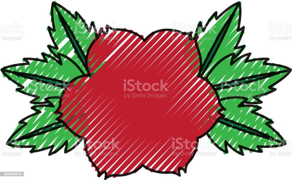 rose flower tattoo icon rose flower tattoo icon - arte vetorial de stock e mais imagens de arte, cultura e espetáculo royalty-free