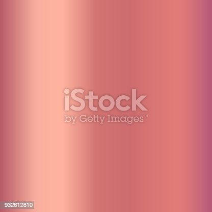 Rose gold gradient for fashion design. Shiny pink gradient illustrations for backgrounds, cover, frame, ribbon, banner, label, flyer, card, poster etc.