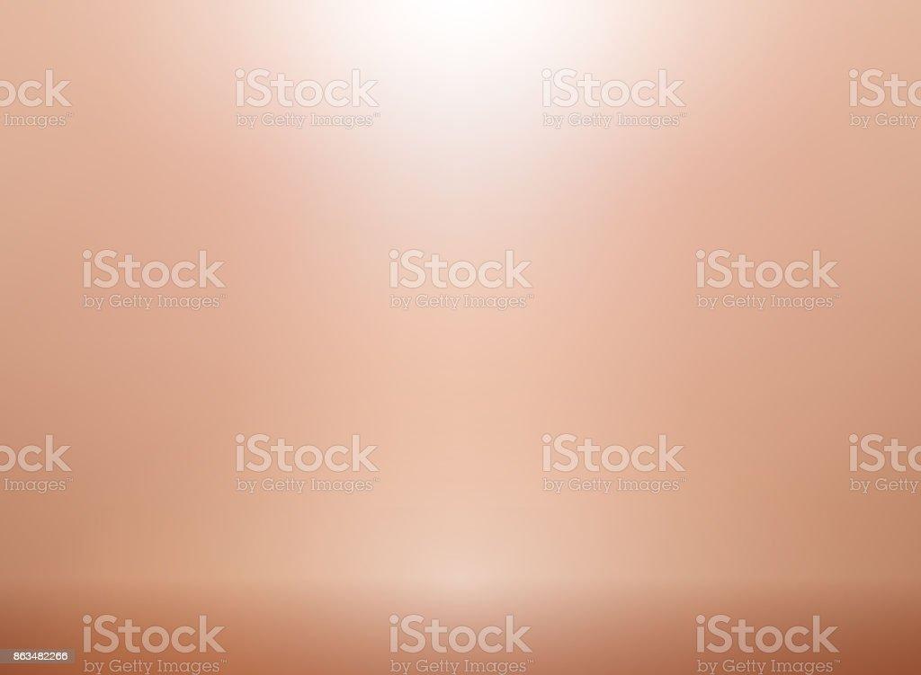 Rose gold vector background with lighting. Metallic pink gold backdrop for elegant wedding invitation vector art illustration