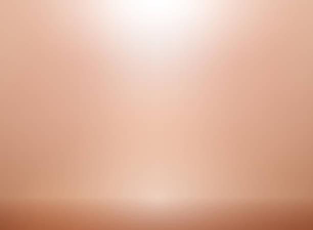 rose gold vektor hintergrund mit beleuchtung. metallisches rosa gold kulisse für elegante hochzeitseinladung - kupfer stock-grafiken, -clipart, -cartoons und -symbole