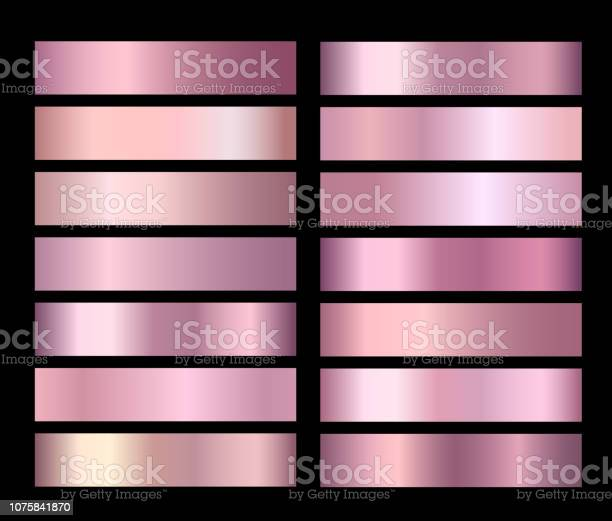 Rose gold vector pink foil texture gradients templates set vector id1075841870?b=1&k=6&m=1075841870&s=612x612&h=sysxpevnkbelbdm9icllgpq rdfww3srpqgl bbnrw0=