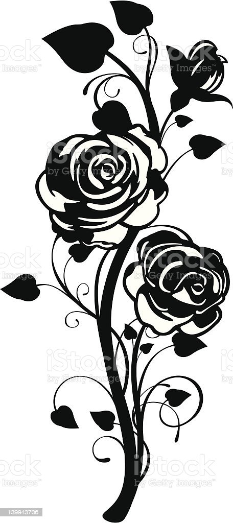 Rose Graphic royalty-free rose graphic stock vector art & more images of abstract