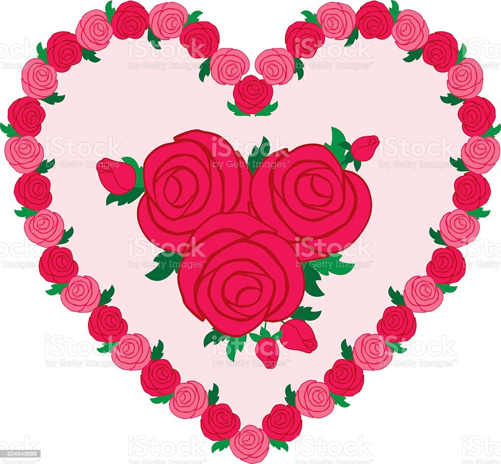Cuore rosa san valentino clipart immagini vettoriali for Clipart cuore