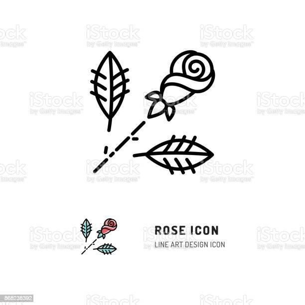 Rose icon flower rose logo line art design vector flat illustration vector id868238392?b=1&k=6&m=868238392&s=612x612&h=ywjzibjif1s2xagtwxg2kfb1bru1d1jewnfuwapek2i=