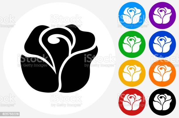 Rose icon on flat color circle buttons vector id625753226?b=1&k=6&m=625753226&s=612x612&h=rtlgwctce4rusmcy3dgcrhj3epuhv4ecruajkovrnb0=