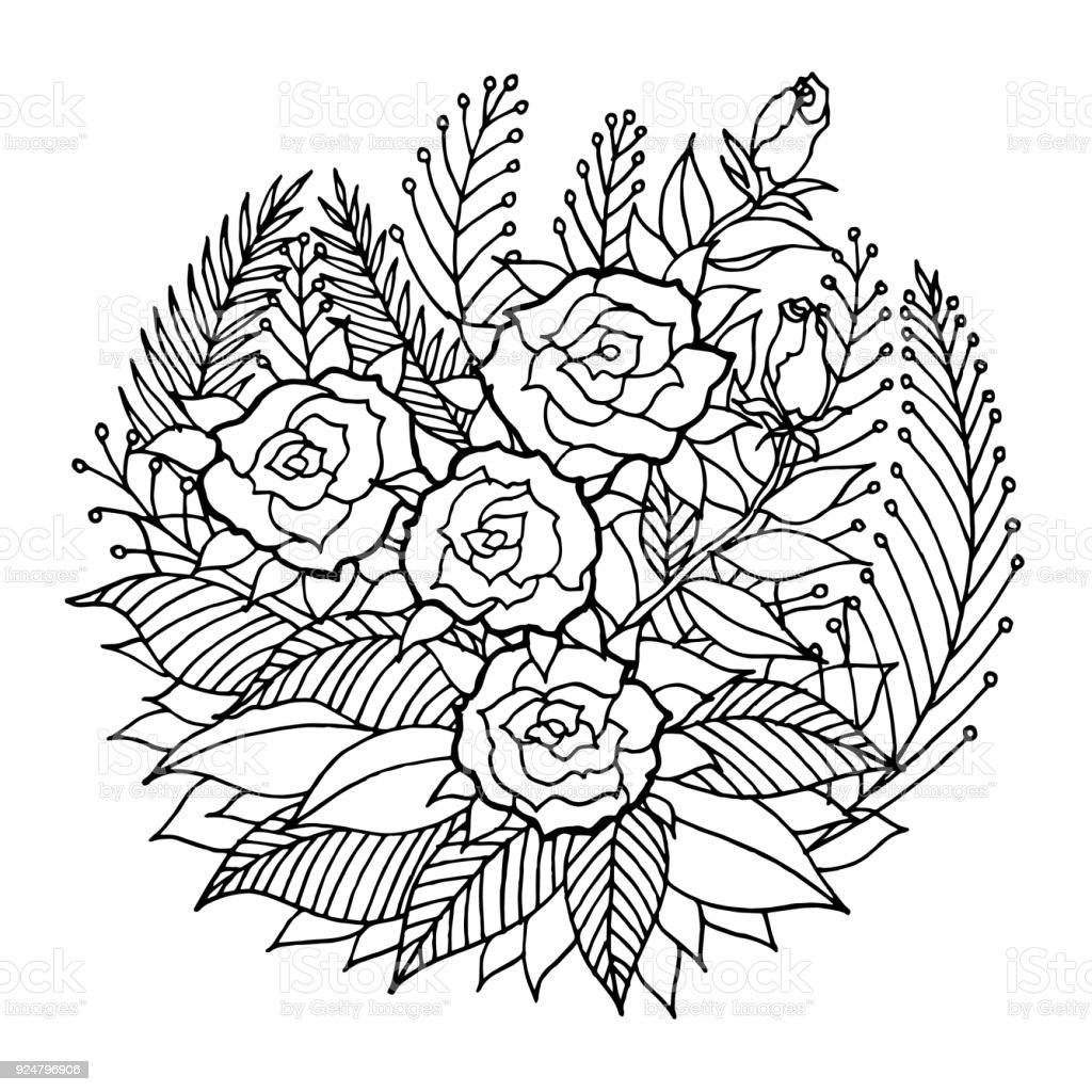 Rosen Mandala Symbol Symbol Symbol Blume Blumen Blatt ...