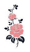 Rose motif design