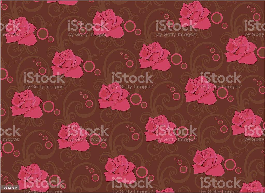 Rose Enten-Muster Lizenzfreies rose entenmuster stock vektor art und mehr bilder von abstrakt