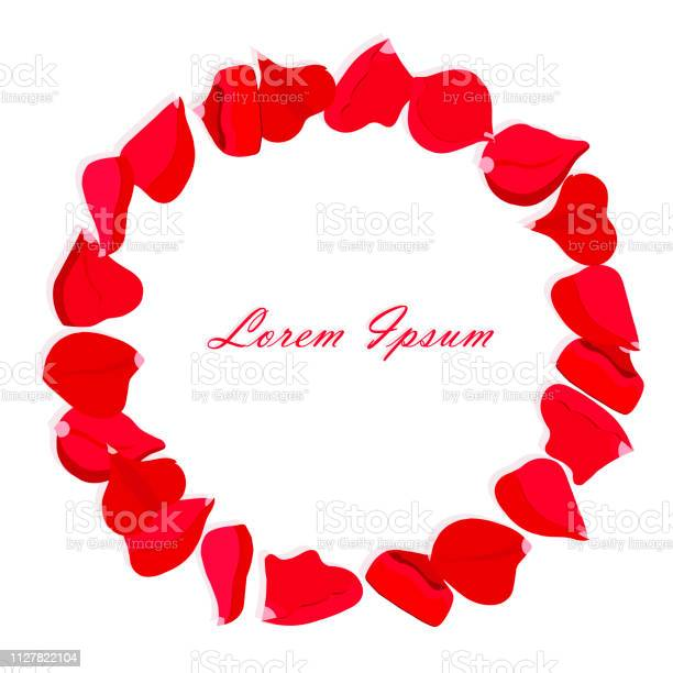Rose petals wreath red petals circle on white lorem ipsum shadows vector id1127822104?b=1&k=6&m=1127822104&s=612x612&h=gko 25cyzbspvck1l9y4zobw324p64ozfxsdyepfan4=