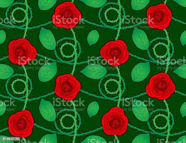 Rose red seamless pattern with leaves vector id914945280?b=1&k=6&m=914945280&s=612x612&h=ruzssy00r15xxua9r8q4djwvebg8uovduijlasrjzms=